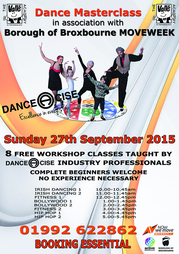 DANCE & FITNESS MASTERCLASS at VALLE