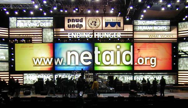netaid stage